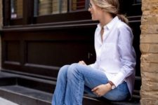 cuffed jeans look