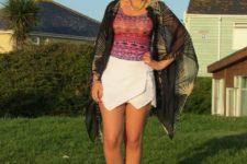 scarf summer look