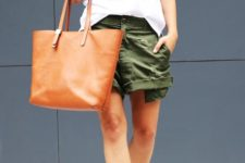 With-white-shirt-two-color-heels-and-brown-tote