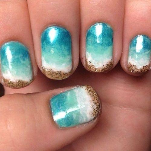 best beach manicure
