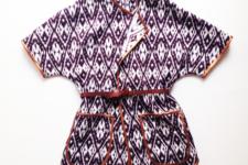 DIY boho-inspired poncho jacket