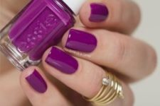 07 classic purple manicure is always a win-win idea for summer