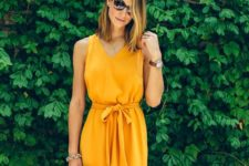 yellow dress idea for summer