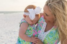12 colorful printed beach dresses for the mom and her girl