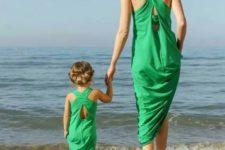 14 green maxi beach dresses with a criss cross back