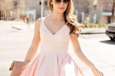 pink dress for a summer