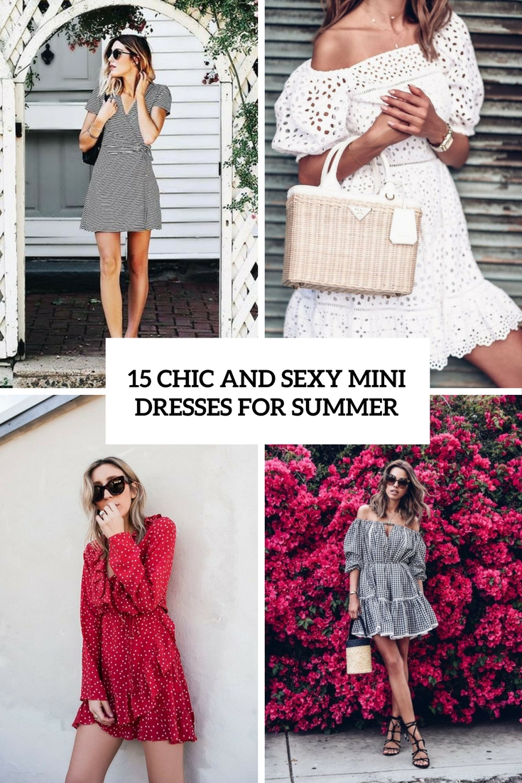 15 Chic And Sexy Mini Dresses For Summer