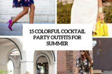 15 colorful cocktail party outfits for summer cover