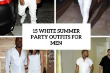 15 white party summer outfits for men cover