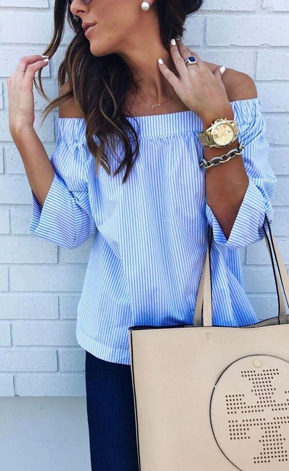 Picture of dark denim blue vertical striped shirt with for Dark denim toddler shirt