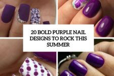 20 bold purple nail designs to rock this summer cover