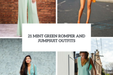 21 Mint Green Romper And Jumpsuit Outfits