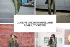 21 Olive Green Romper And Jumpsuit Outfits For Ladies