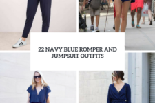 22 Navy Blue Romper And Jumpsuit Outfits