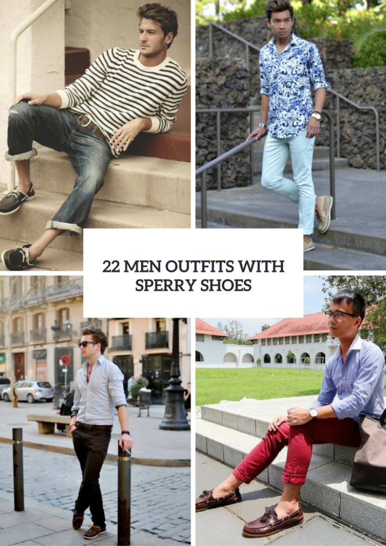 5a39f89ae1a 22 Stylish Men Outfits With Sperry Shoes – OBSiGeN