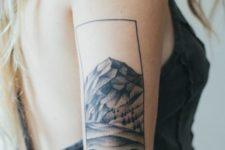 Original tattoo on the right arm