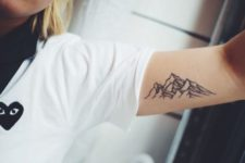 Tattoo on the arm