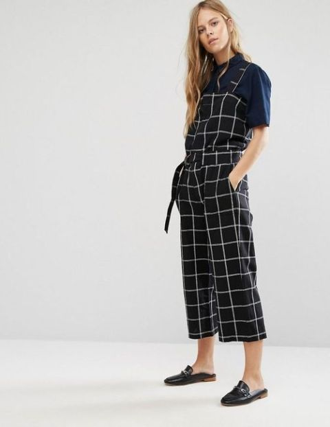 8addc65392c 22 Checked Romper And Jumpsuit Outfits For Ladies - Styleoholic
