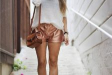 scarf spring outfit