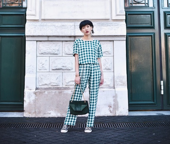 spring outfit with a jumpsuit