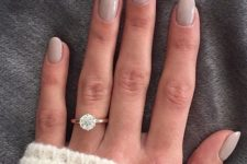 03 rounded dove grey nails look heavenly, soft and sweet