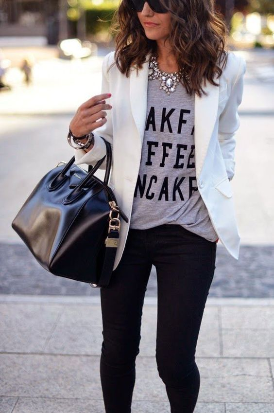 15 Casual Jeans And A Blazer Outfit Ideas Styleoholic