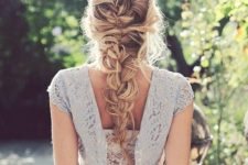 12 a messy long braid won't make you feel very hot