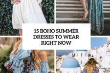 15 boho summer dresses to wear right now cover