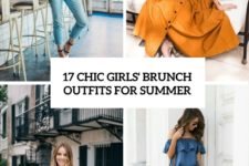17 chic girls' brunch outfits for summer cover