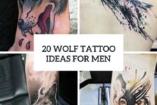 20 Creative Wolf Tattoo Ideas For Men