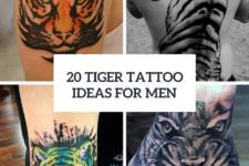 20 Excellent Tiger Tattoo Ideas For Men