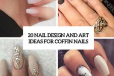 20 nail design and art ideas for coffin nails cover
