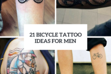 21 Excellent Bicycle Tattoo Ideas For Men
