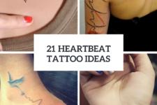 21 Heartbeat Tattoo Design Ideas For Ladies