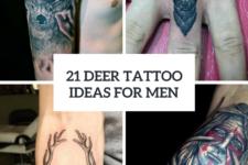 21 Men Deer Tattoo Ideas To Try