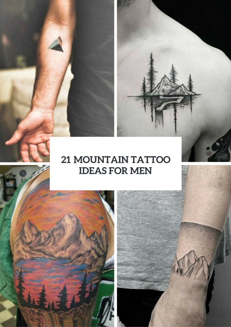 21 Stunning Mountain Tattoo Ideas For Men Styleoholic