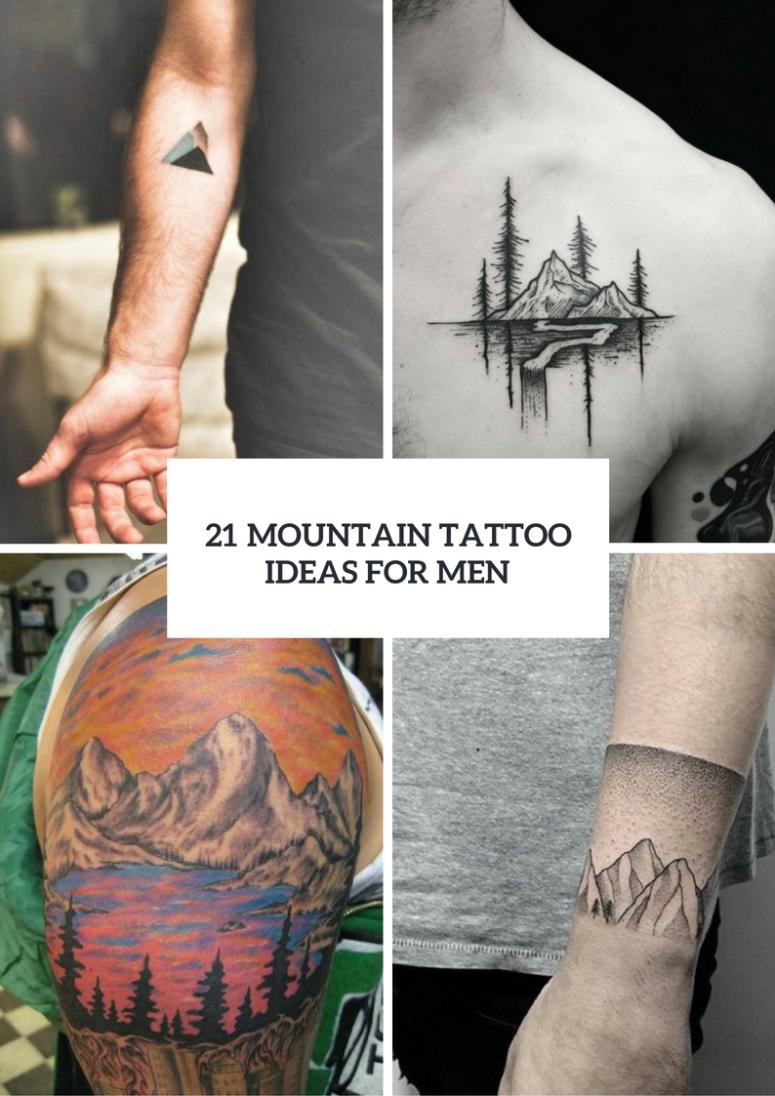 21 Stunning Mountain Tattoo Ideas For Men