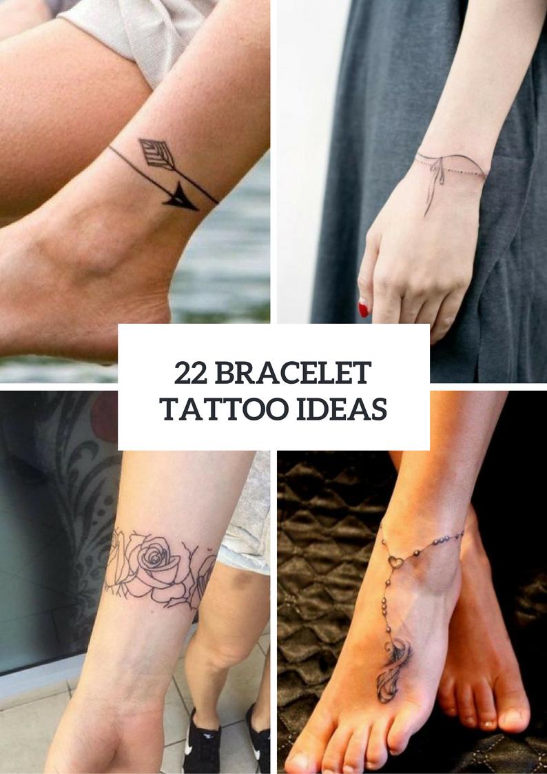 Bracelet Tattoo Ideas For Women