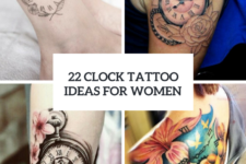 22 Cute Clock Tattoo Ideas For Women