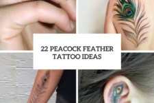 22 Women Peacock Feather Tattoo Ideas To Try