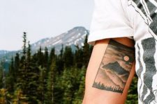 Beautiful tattoo on the arm