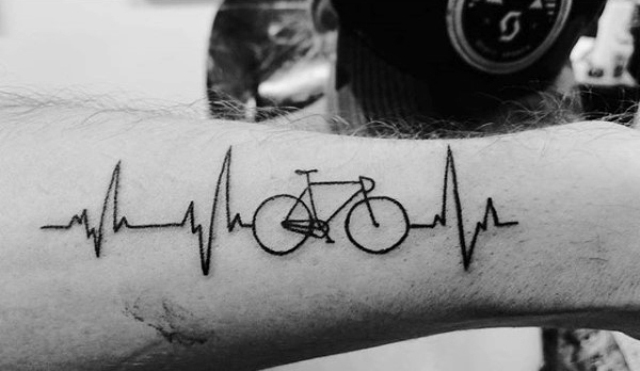 21 Excellent Bicycle Tattoo Ideas For Men Styleoholic