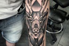 Big tattoo on the hand