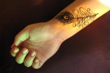 Cool tattoo on the wrist