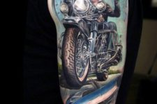 Gorgeous tattoo on the arm