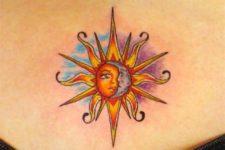 Lower back tattoo idea