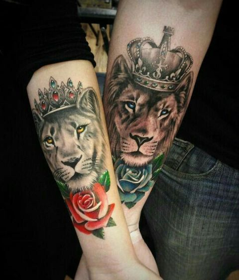Picture of matching tattoos for couples for Matching tattoos for guys