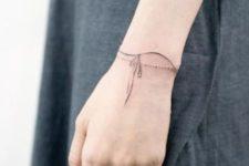 wrist tattoo idea