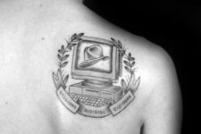 Tattoo on the shoulder