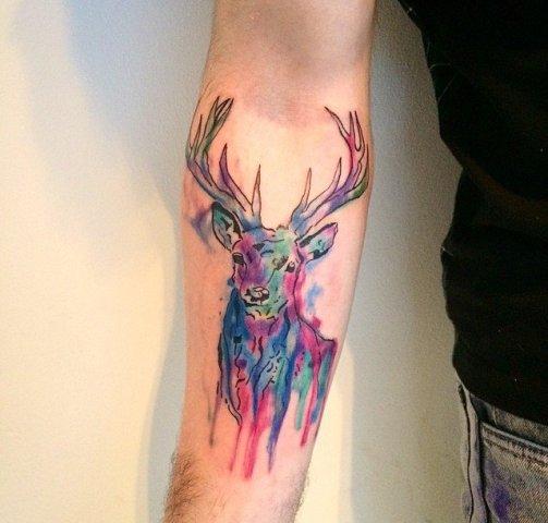 21 men deer tattoo ideas to try styleoholic rh styleoholic com images of deer tattoos pictures of deer skull tattoos